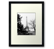 Eiffel at a distance Framed Print