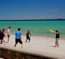 International Cricket at Dromana by Mark Radford