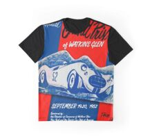 Vintage Poster - Watkins Glen - 1952 Graphic T-Shirt