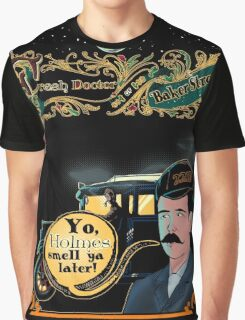 Print The Fresh Doctor Of Baker Street  Graphic T-Shirt