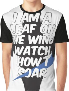 A Leaf on the Wind Graphic T-Shirt