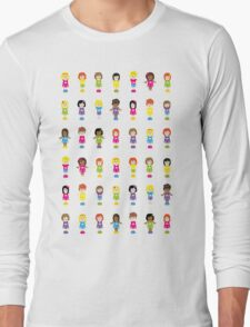 90's Girl Best Friend Long Sleeve T-Shirt