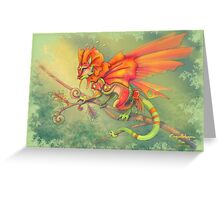 Coquelidragon Greeting Card