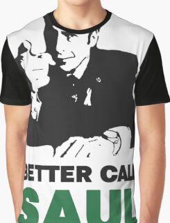 Better Call Saul (White) Graphic T-Shirt