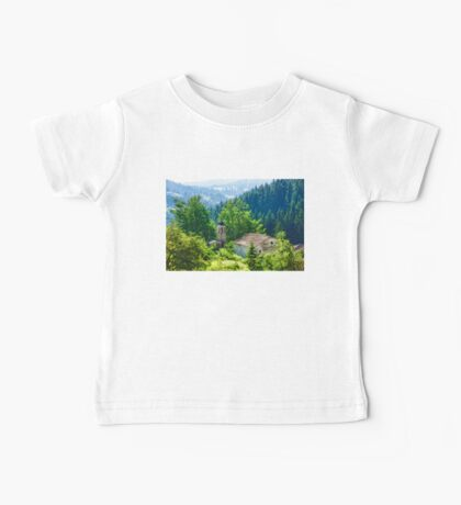 The Village Church - Impressions of Mountains and Forests Baby Tee