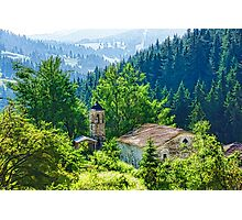 The Village Church - Impressions of Mountains and Forests Photographic Print