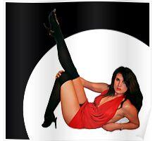 Natasha Pin Up Poster