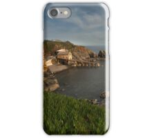 old Lifeboat station Lizard Cornwall  iPhone Case/Skin