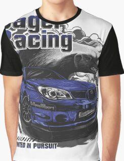 Jager Raging Fierce Badger Graphic T-Shirt