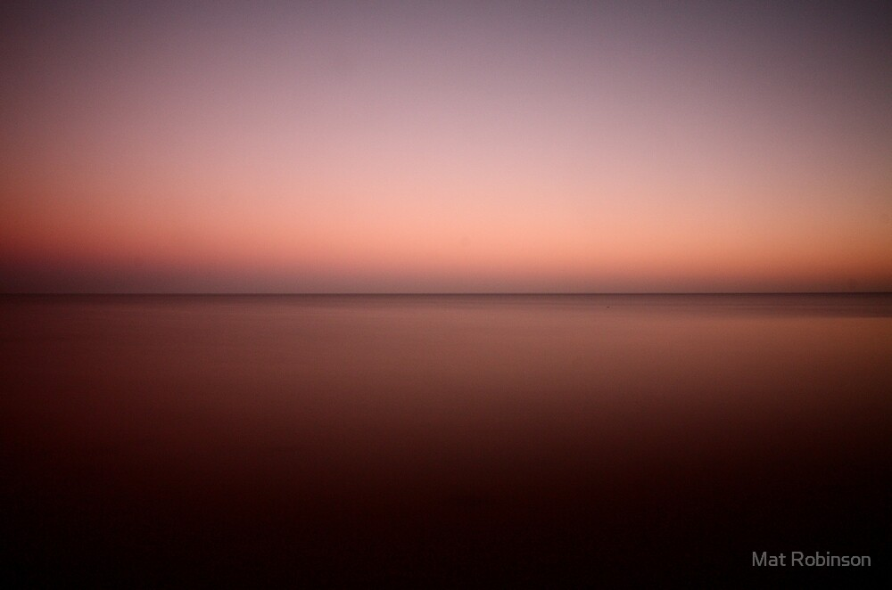 An East Coast Sunset by Mat Robinson