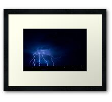 Christmas Eve Storm 2011 Framed Print