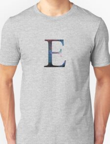 Epsilon Greek Letter Unisex T-Shirt