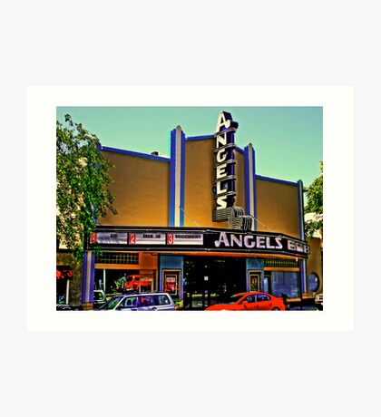 Angels Theater Art Print