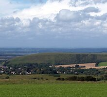 Purbeck Panorama by Mike Streeter