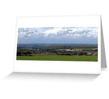 Purbeck Panorama Greeting Card
