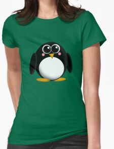 Adorable Penguin Womens Fitted T-Shirt