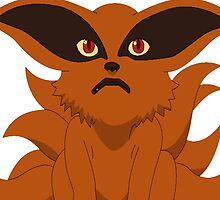 Naruto Shippuden: NineTails Kurama Small by sunes123