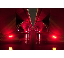 Red Guiding Light Photographic Print