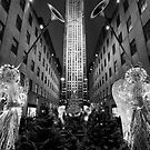 Rockefeller Center by Randy  Le'Moine