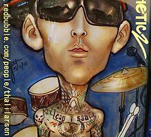 Travis Barker by Aestheticz .