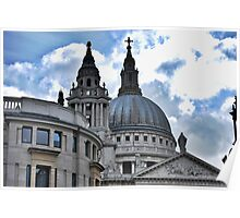 St Paul's HDR Poster