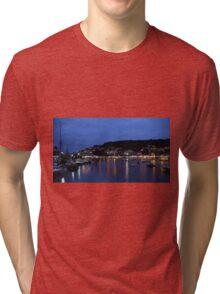 Looe Harbour Tri-blend T-Shirt
