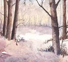 Winter in Miniature by Val Spayne