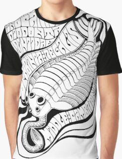 Psychedelic Opabinia Graphic T-Shirt