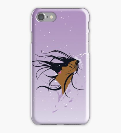 Winter's Snow (African/African-American) iPhone Case/Skin