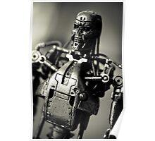 T-800 Endoskeleton Poster