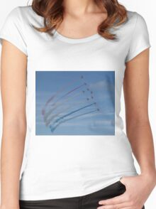 Red Arrows  Women's Fitted Scoop T-Shirt