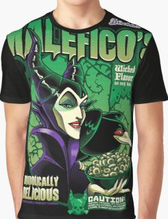 Malefico's - Wicked Flavor In Each Bite! Graphic T-Shirt