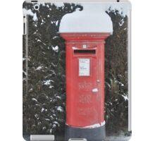 Christmas post box iPad Case/Skin