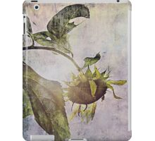 rural sky sunflower iPad Case/Skin
