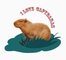I love capybaras Kids Clothes