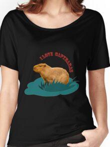 I love capybaras Women's Relaxed Fit T-Shirt