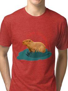I love capybaras Tri-blend T-Shirt