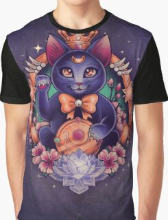 Maneki Luna Graphic T-Shirt