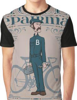 Bicycle Repairman Graphic T-Shirt