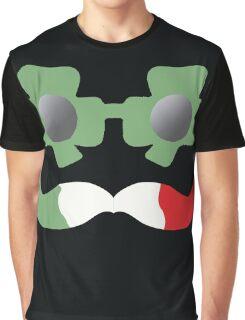 Irish-Italian Coolio Graphic T-Shirt