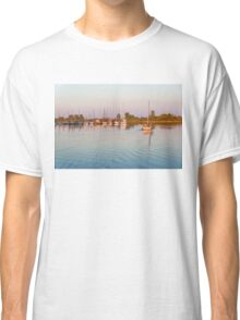 Impressions of Summer - Sailing Home at Sundown Classic T-Shirt