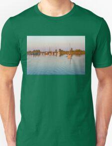 Impressions of Summer - Sailing Home at Sundown Unisex T-Shirt