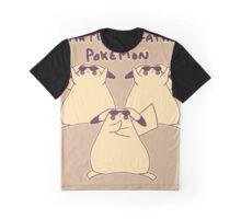 Gentleman Pikachu Parody Graphic T-Shirt