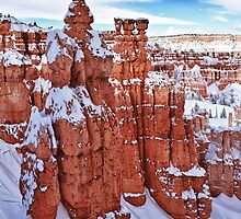 Winter Temples by James Marvin Phelps