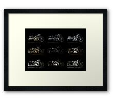 Brough Superior SS100 Framed Print