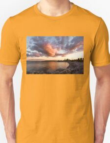 Colorful Summer Sunset - Lake Ontario Impressions T-Shirt