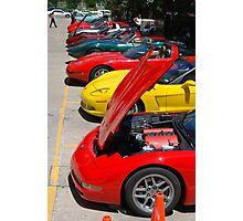 Corvette Event Chicago, IL VI Photographic Print