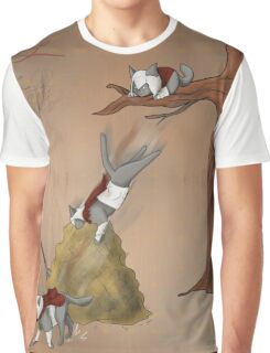 Famous Cats_ Assassin Cat 01 Graphic T-Shirt