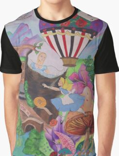 Through the Rabbit Hole Graphic T-Shirt