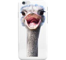 Goofy ostrich iPhone Case/Skin